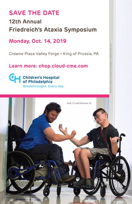 CHOP Symposium Save the Date 2019