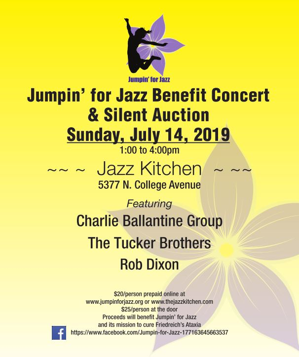 Jumpin for Jazz 2019 Flyer