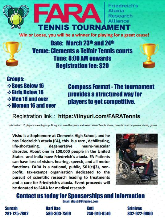 Rao Tennis tournament 2019