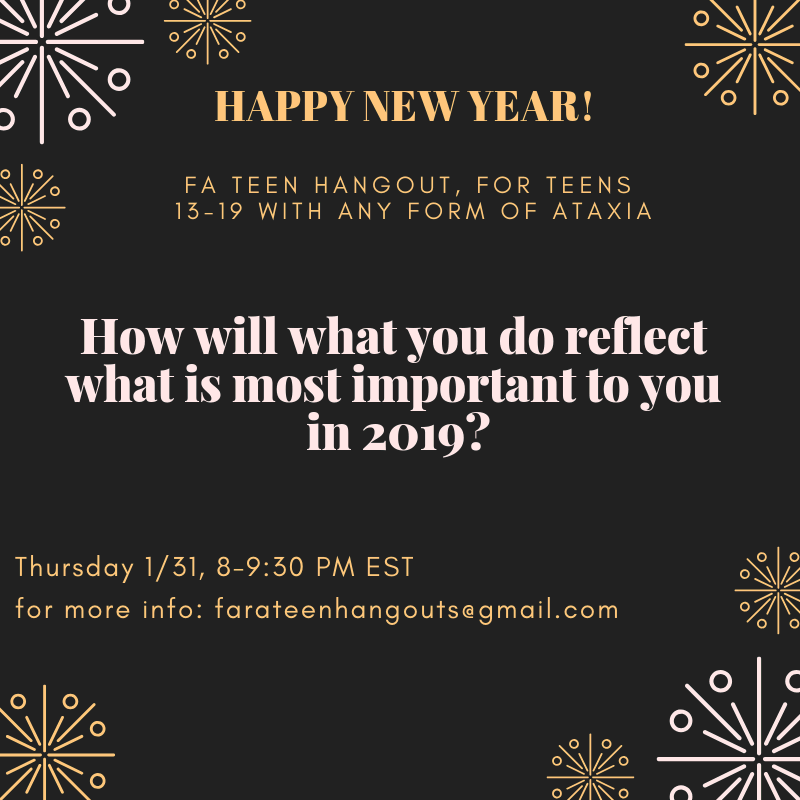 January teen hangout
