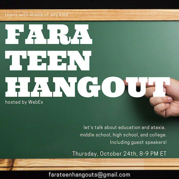 October Teen Hangouts