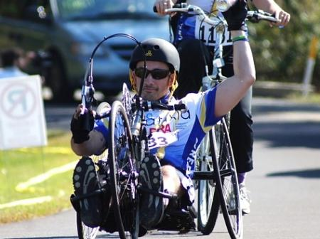 Nick Carbone - Top End Force Handcycle