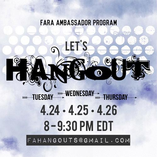 FAHangouts April18