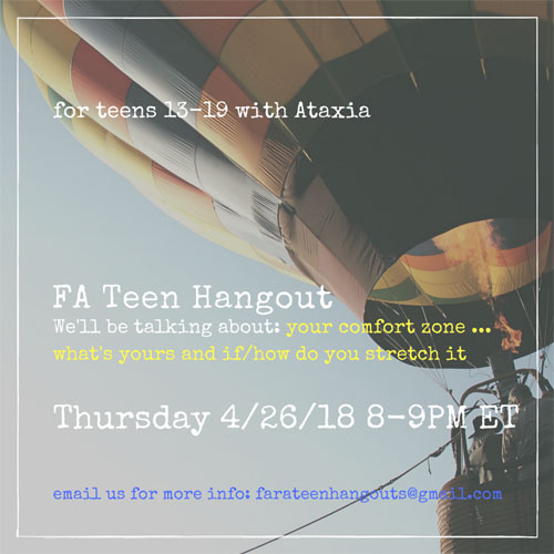 TeenHangoutsApril18