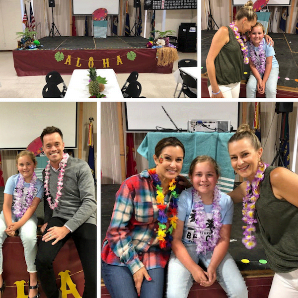 Luau collage